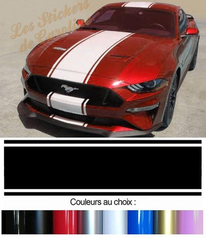 BANDES TOIT CAPOT FORD MUSTANG AUTO BD408-4