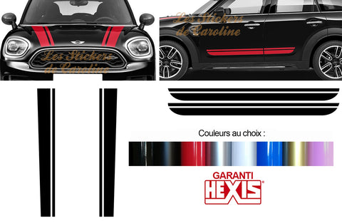 4 BANDES MINI COUNTRYMAN BD419-7