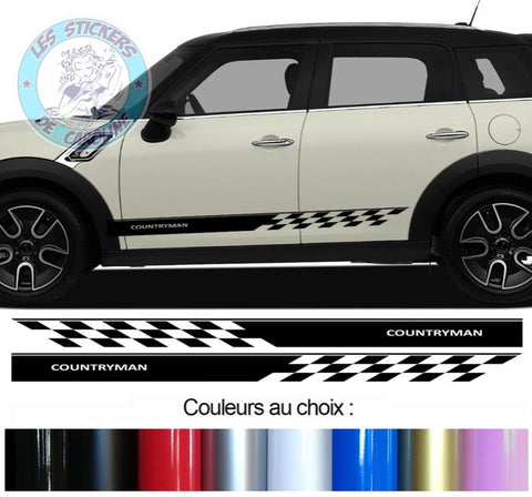2 BANDES MINI COUNTRYMAN BD435-31