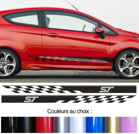 2 BANDES FORD FIESTA ST BD435-9