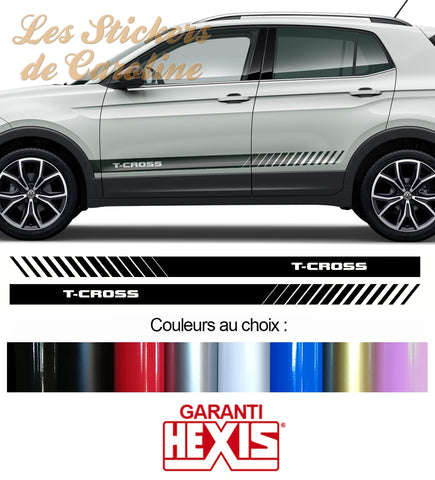 2 BANDES VW T-CROSS SUV BD500-35