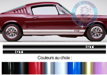 2 BANDES FORD MUSTANG GT BD601-7