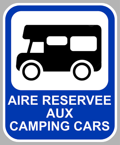 AIRE RESERVEE CAMPING-CAR