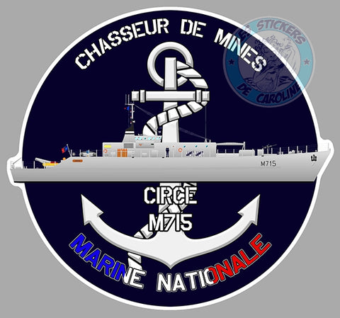 CHASSEUR DE MINE CIRCE M715 CD008