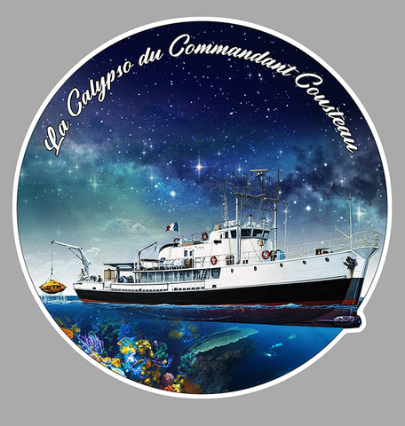 COMMANDANT COUSTEAU LA CALYPSO CD115