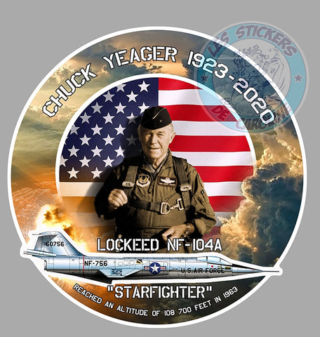 CHUCK YEAGER LOOCKEED CD116