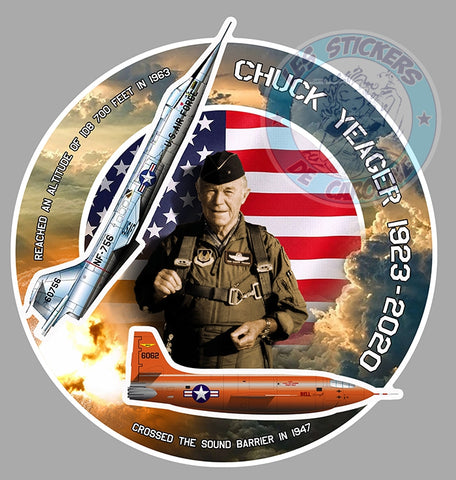 CHUCK YEAGER SOUND BARRIER CD118