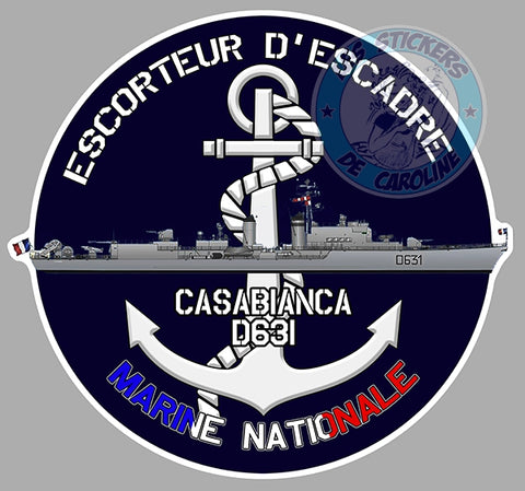 ESCORTEUR D'ESCADRE CASABIANCA D631 EA089