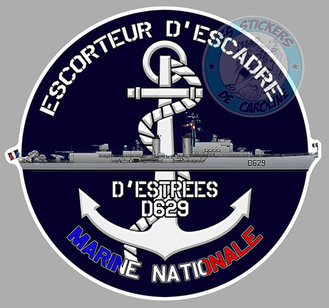 ESCORTEUR D'ESCADRE D'ESTREES D629 EA090
