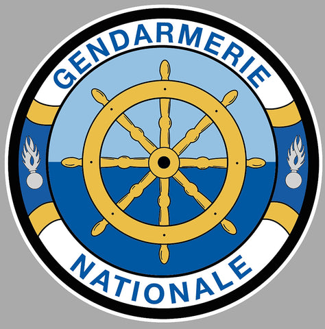GENDARMERIE NATIONALE LOGO GA147