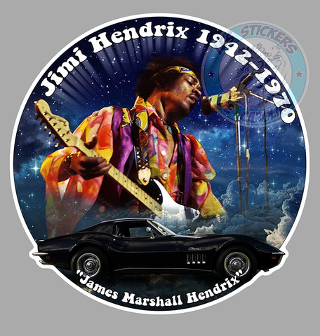 Jimi Hendrix James Marshall HB146