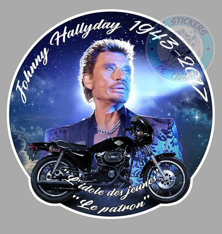 CHANTEUR Johnny Hallyday JA109