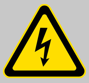 ELECTRICITE DANGER STOP PA082