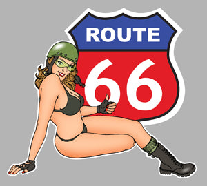 PINUP ROUTE ROAD 66 PA252