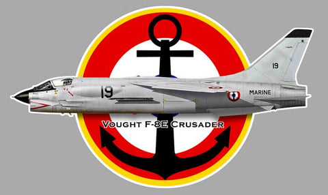 F8 CRUSADER VOUGHT AV121