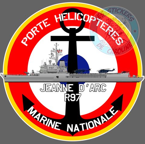 PORTE HELICOPTERES Jeanne d'Arc PE177