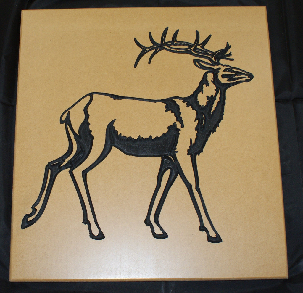 Deer Carving