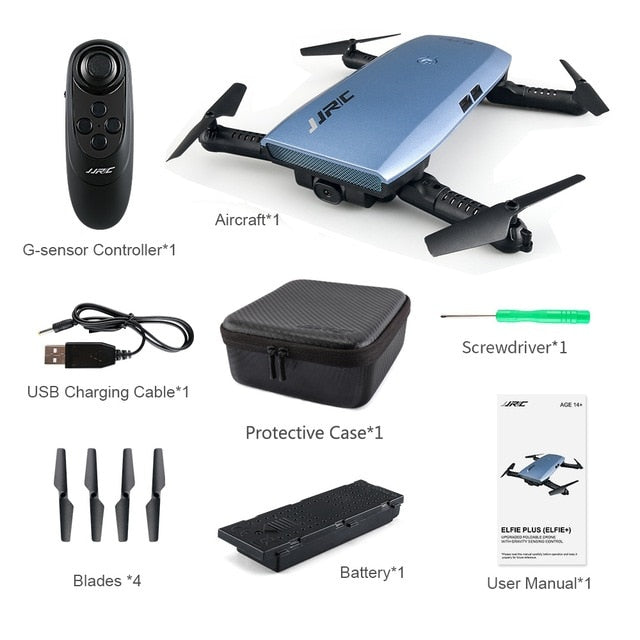 High Quality Foldable Arm Quadcopter Drone With HD Camera