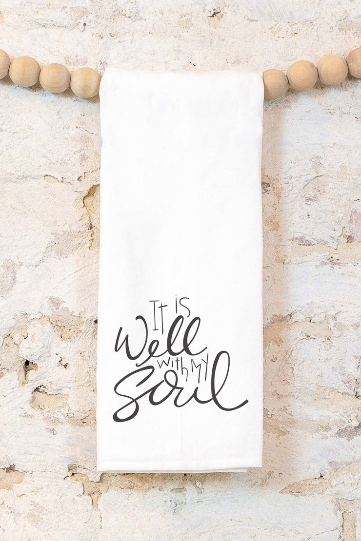 It is Well with my Soul | Cotton Tea Towel