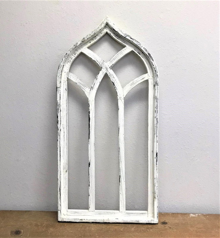 Whitewash Wooden Window