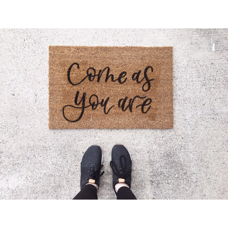 Come As You Are | Door Mat