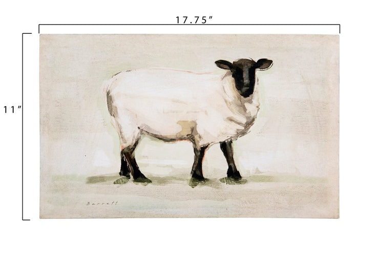 Sheep Canvas Wall Decor