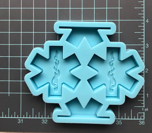 First Responders Straw Topper Mold