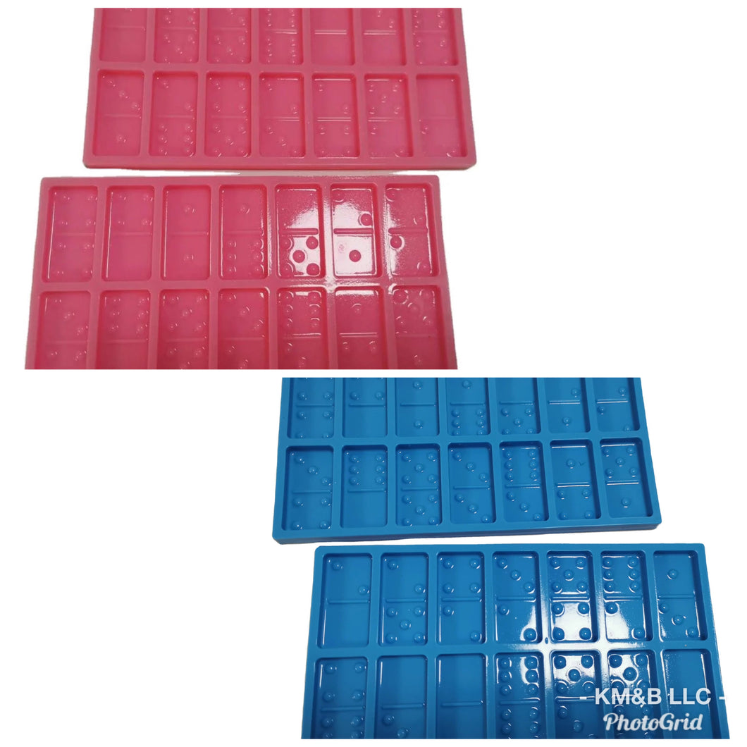Jumbo Domino Mold (Double Six)