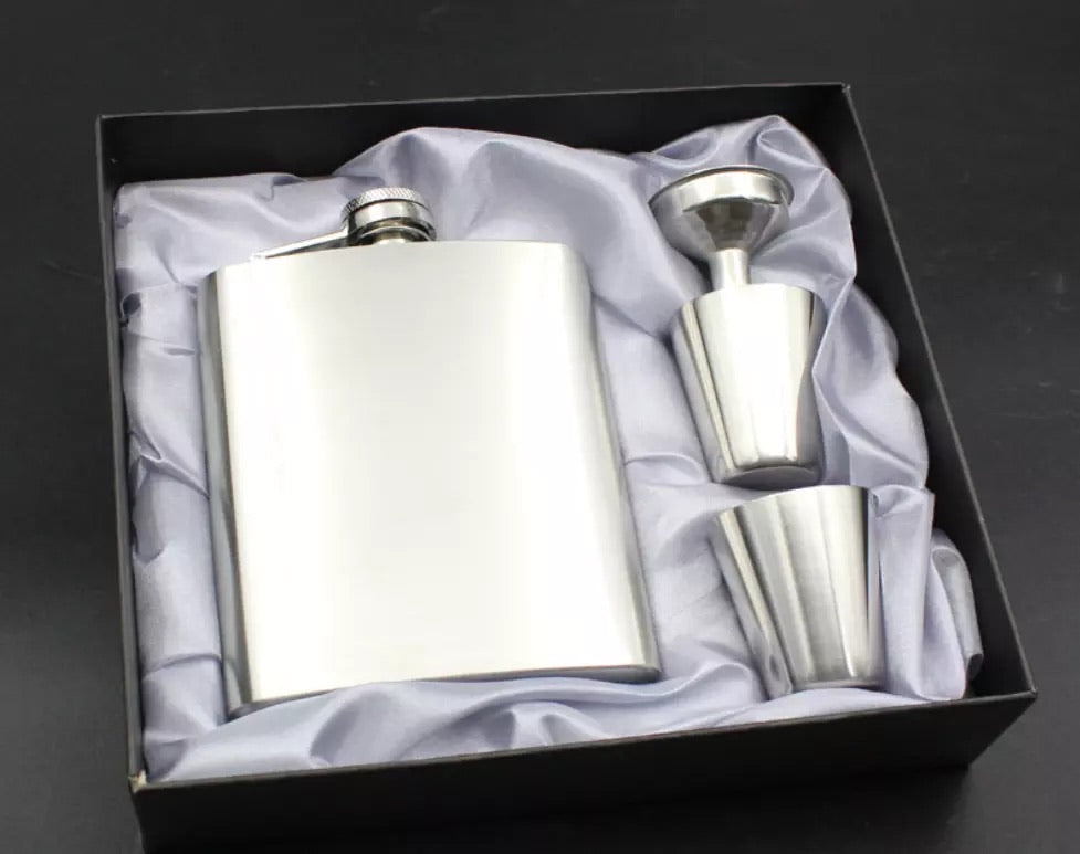 6oz Flask Set