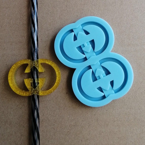 Double G Straw Topper Mold