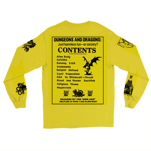 Dungeons and Dragons Long Sleeve