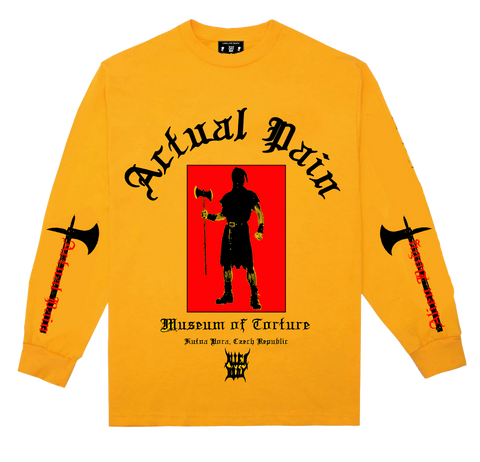 MUSEUM OF TORTURE Yellow Longsleeve