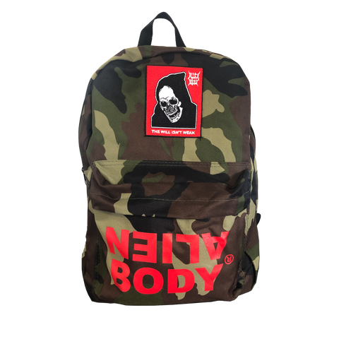 CAMO BACKPACK - RAW VISION