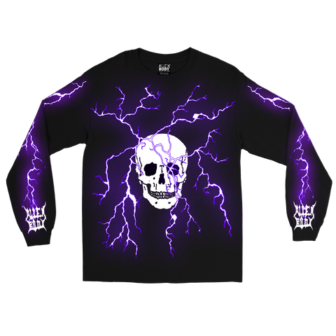ELECTRIC SKULL LONG SLEEVE