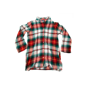 Upcycled Series - Flannel (Green/Red)