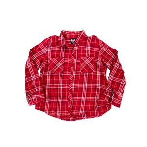 Upcycled Series - Flannel (Red/White)
