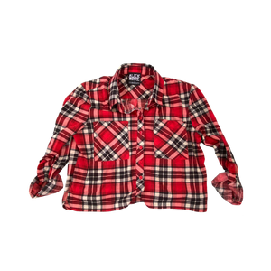 Upcycled Series - Flannel (Red/White/Black)