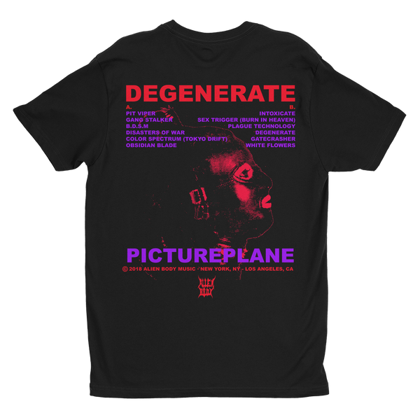 Degenerate Cassette Bundle - Cassette, Shirt and Poster