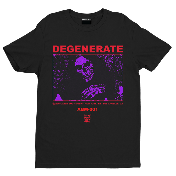 Degenerate Bundle - Shirt and Poster