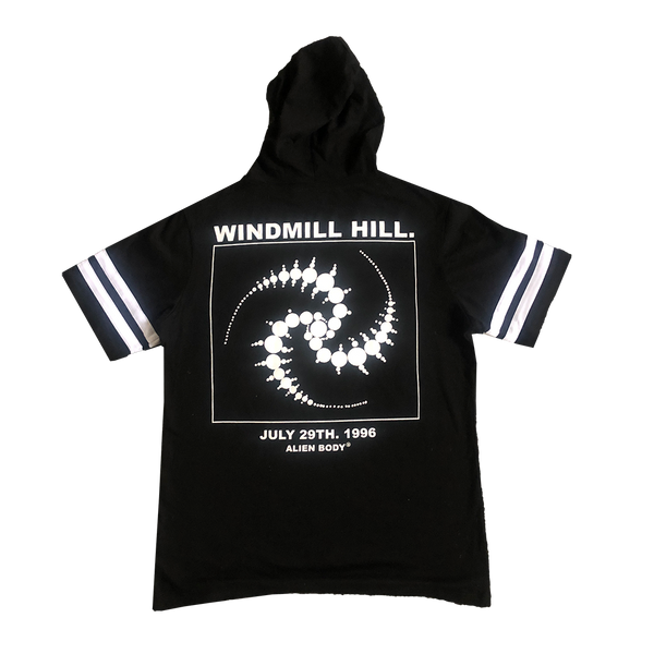 Hooded Crop Circle T-Shirt
