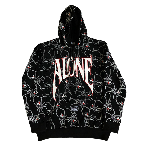 BLACK WIDOW ALONE HOODIE