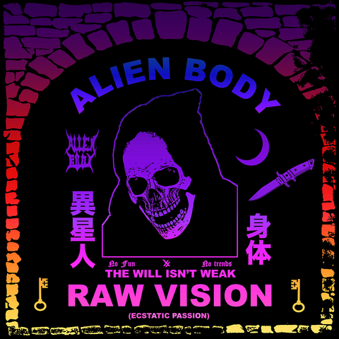 HYPERDELIC RAW VISION DUNGEON FLAG