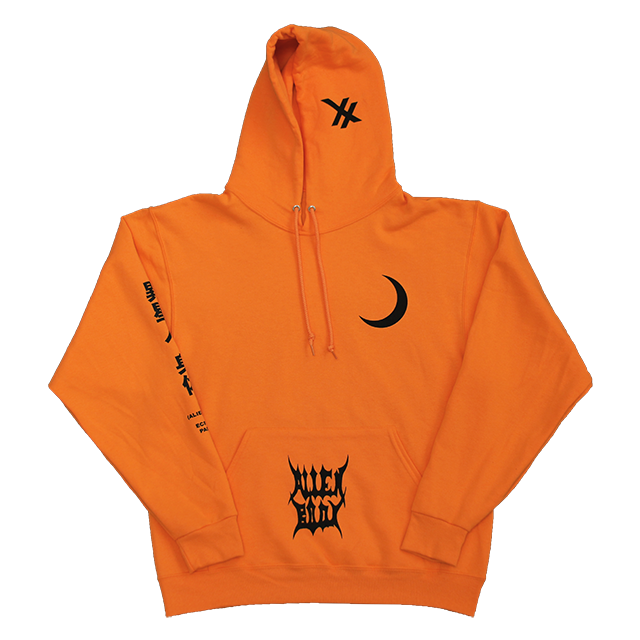 RAW VISION HOODIE (ORANGE) LIMITED EDITION