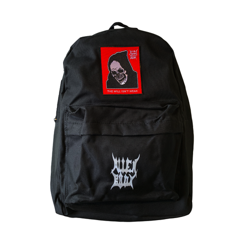 BLACK BACKPACK - RAW VISION