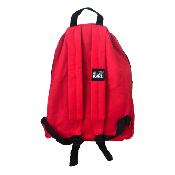 RED BACKPACK - RAW VISION