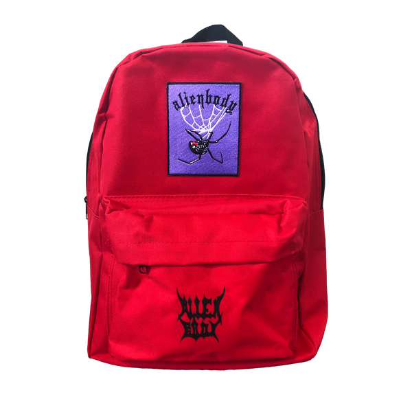 RED BACKPACK - SPIDER