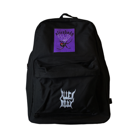 BLACK BACKPACK - SPIDER