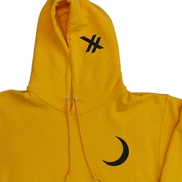 RAW VISION HOODIE (YELLOW)