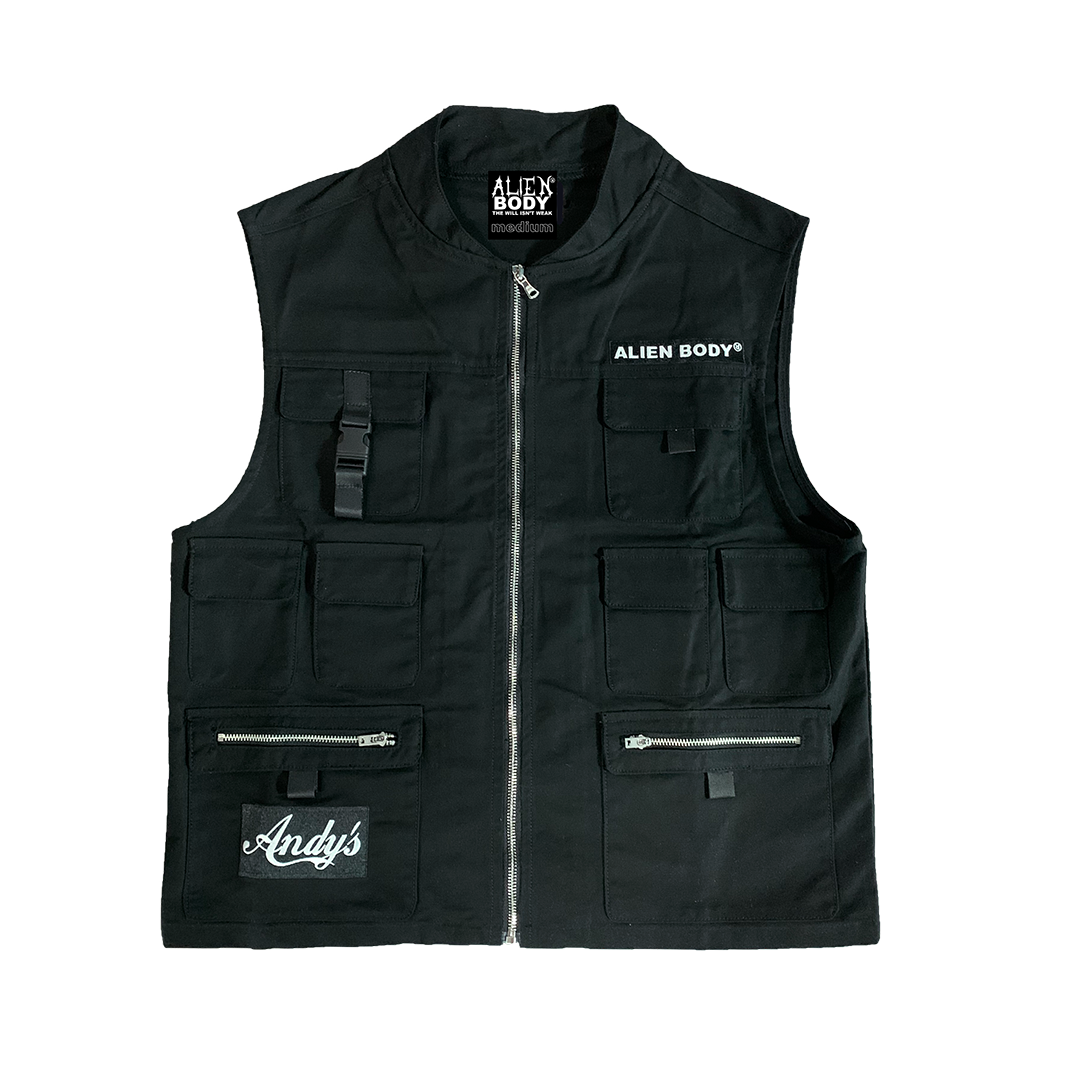 ANDY'S ELECTRIC CHAIR REPAIR VEST