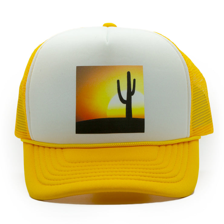Saguaro Sunset Trucker Cap